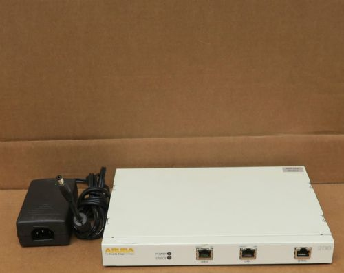 Aruba 200 Wireless Point LAN Controller For Network AP + AC Adapter Licensed